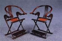 西安哪里出手交易紫檀交椅正规