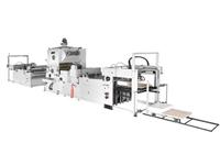 全自動立式覆膜機-全自動玻璃覆膜機