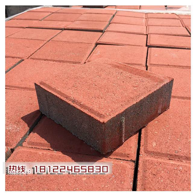 广东惠州市人行道环保透水砖企业 人行道砖联系电话