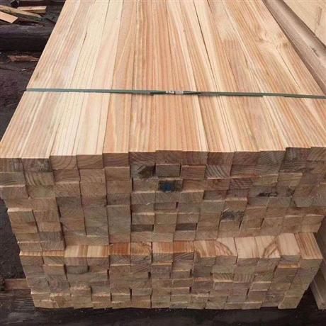 花旗松建筑木方 定制南方松方木批发 新西兰松建筑木方厂家直销