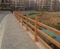 景區水泥仿木欄桿