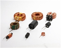 插脚共模电感T1495-150UH立式磁环电感