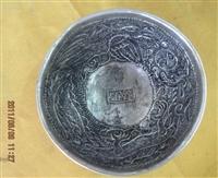 花卉紋銀碗哪家在線拍賣公司正規