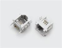 RJ11水晶头 公头母座连接器 富利佳 国产高质量光纤连接器产商
