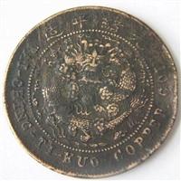 大清銅幣中間滇字鑒定交易