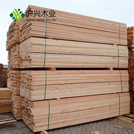 建筑用木方 四面见线 木方跳板 工地铁杉白松 木方四面刨光倒角