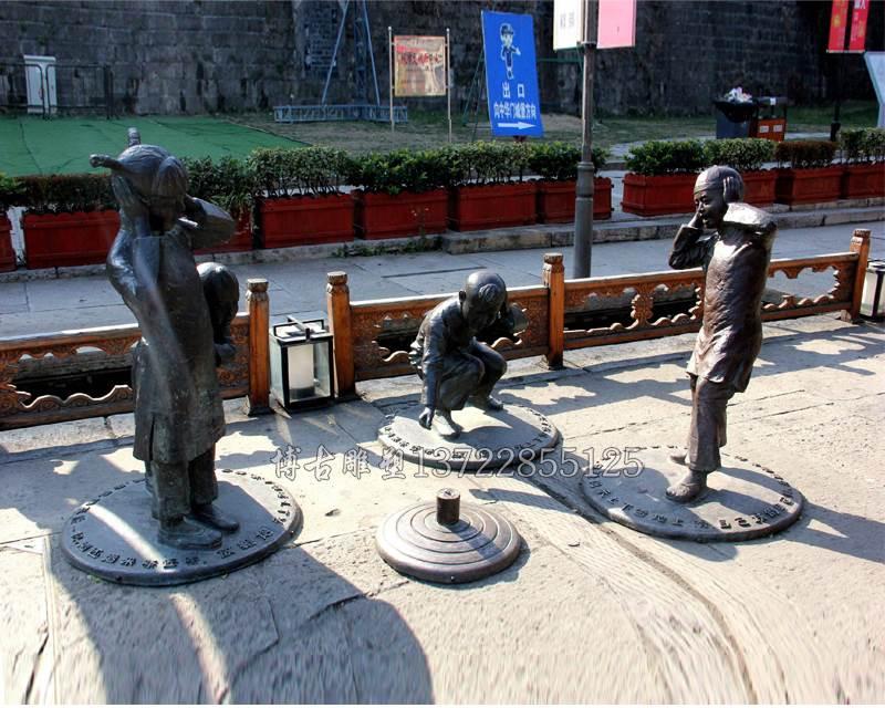 甜性涩爰_公园人物铸铜雕塑 情侣拥抱人物铸铜雕塑