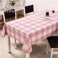 RNPT瑞年 厂家直销防水防油免洗PVC台布简约桌布茶几餐桌布