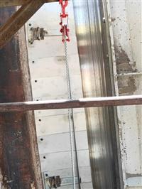 回转窑密封装置   回转窑密封圈改造  正在进行中