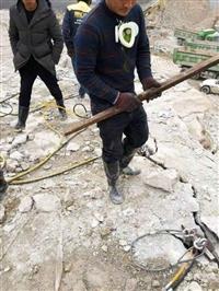 露天巖石開采130劈石棒效率快成本低