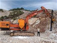 株洲挖基坑碰到堅硬石頭怎么辦