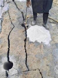 吉林除了爆破還能怎么快速開采石頭
