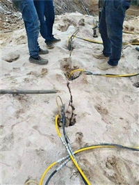 礦山開采分裂機器