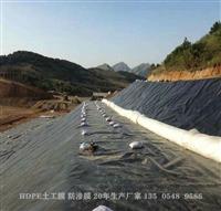 浙江慶元1.5mm化工車間地基防潮土工膜鋪設廠家