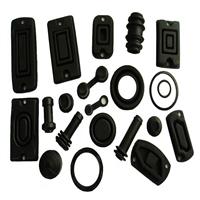 可靠的 汽車密封橡膠異形件 三元乙丙橡膠制品 氣泵橡膠配件