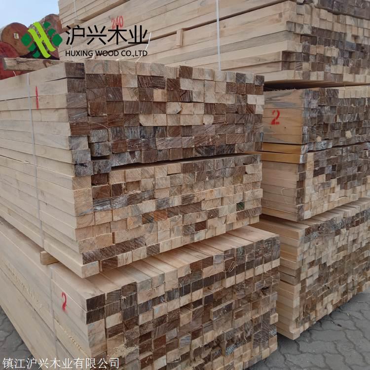 工地木方价格表防腐木户外露台实木板材