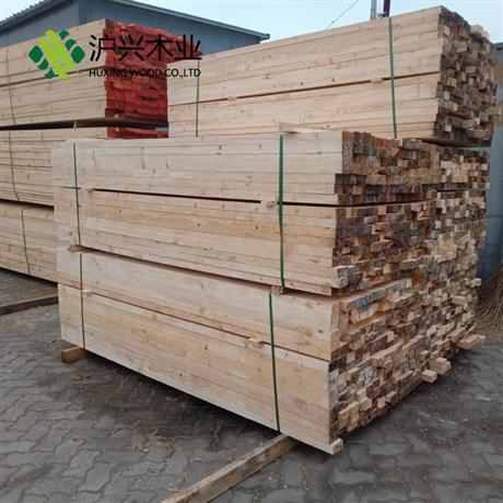 厂家批发松木木方 建筑工程用辐射松木方 工地木方铁杉辐射松