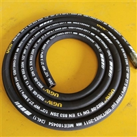 高压软管 高压胶管总成图片 回油管 4寸高压胶管