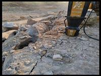 路基替代破碎錘打地基破石頭洛陽-劈石設備廠家