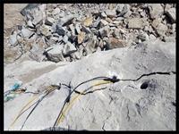 地基石头开采炮锤打不动阿坝-劈石设备厂家