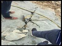 礦山開采分裂硬石頭福建南平-裂石設備廠家
