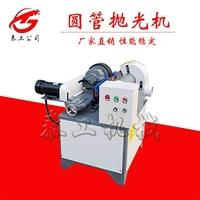 铁管自动打磨机 全自动圆管除锈抛光机 微型立式不锈钢管抛光机