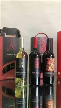 美国apothic红酒阿普斯克酒庄嘉露酒庄