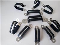 供应郸城县机械配件3*28不锈钢U型金属多管管夹价格
