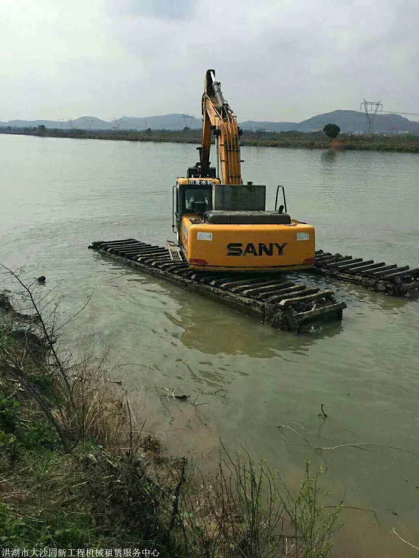 商洛水陆挖掘机租赁在哪里可以租