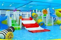 室內兒童水上樂園,游泳池游樂場設備,戲水小品水寨滑梯
