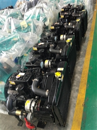 双缸船用发动机 杭州前进125齿轮箱 35马力船用柴油机