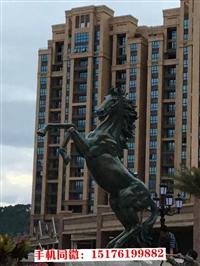 地产铜马雕塑,太原铜马雕塑,欧景动物雕塑