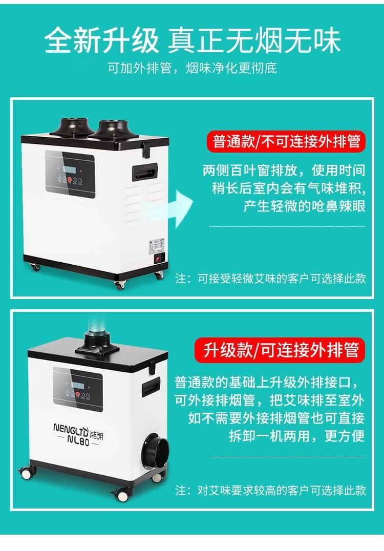 北京养生馆排烟系统安装