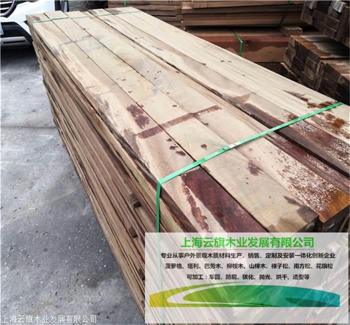 梧州户外室内地板料耐用 红柳桉木 柳桉防腐木红梢木大量批发