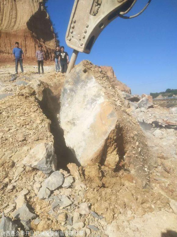挖地基石头太硬不能放炮怎么办成本合算本溪