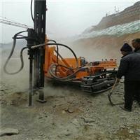 辽宁朝阳花岗岩矿山开挖岩石裂石器