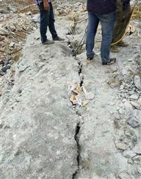 湖南湘乡工地施工开挖地基石头破碎设备 岩石凤凰彩票app手机版机