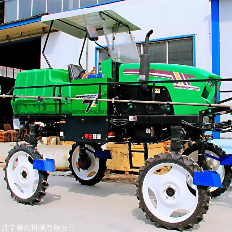 新疆哈密大型自走式打药机