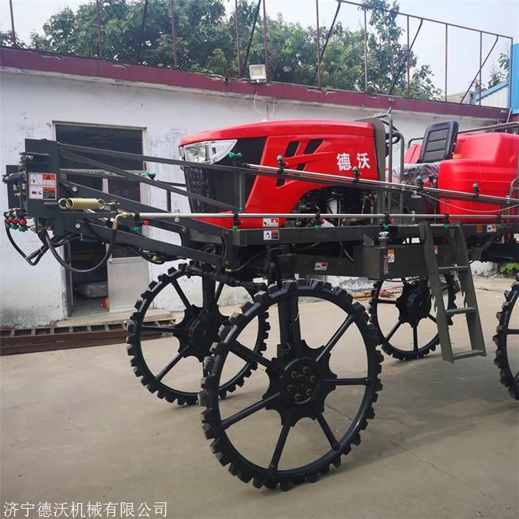 河南安阳自制农用自走式打药机