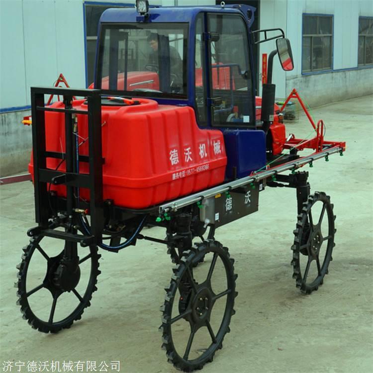 双鸭山自走式柴油打药机热销机型