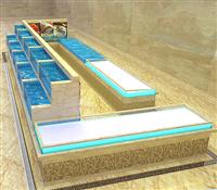 定做各种尺寸鱼缸工程价格 海鲜展示池工程