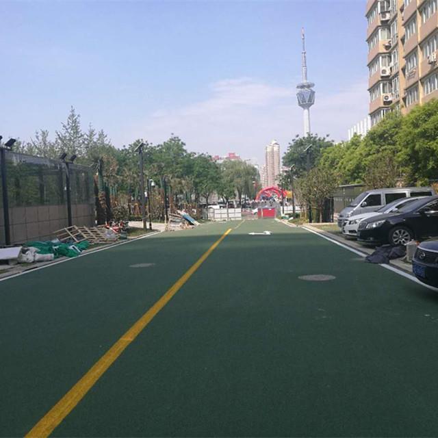 正规城市绿道彩色路面价格