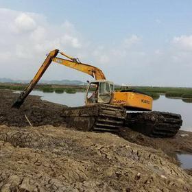 武汉水上挖掘机 供应水上挖掘机 实力商家