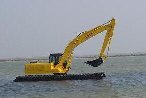专业水上挖掘机出租价格 水上挖机租赁