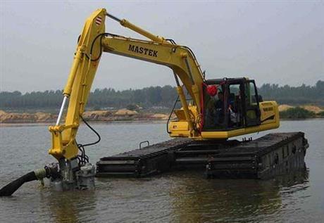 哪家水上挖掘机出租价格优惠
