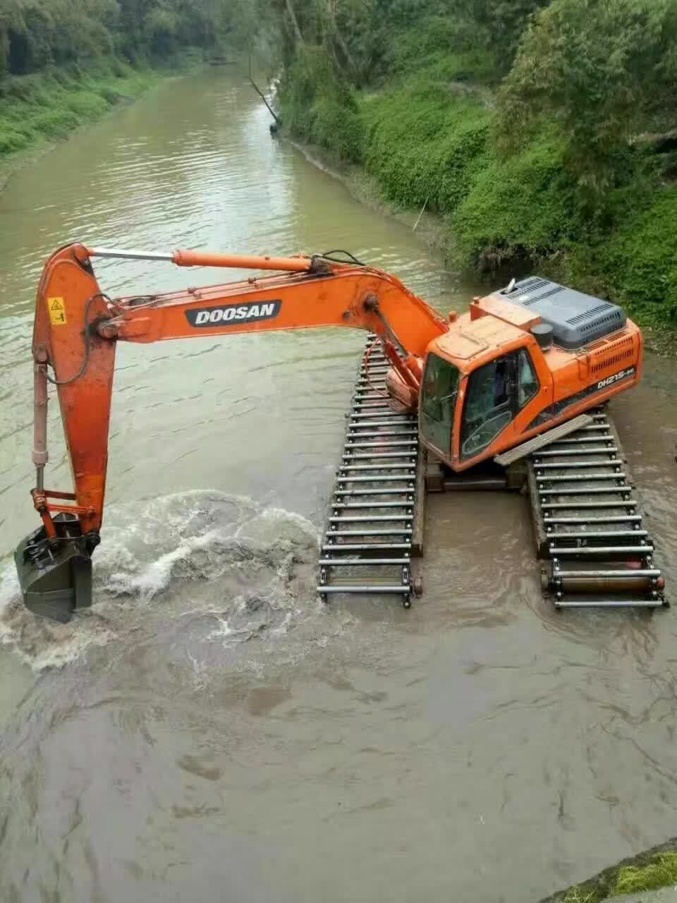 专业水上挖掘机出租哪个品牌好