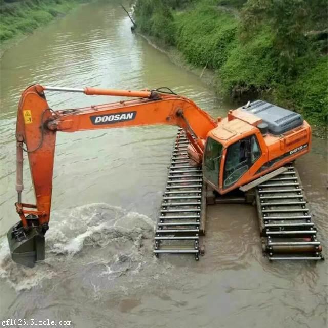 专业的水陆两用挖机租赁厂商