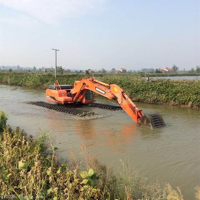 水陆两用挖机出租多少钱