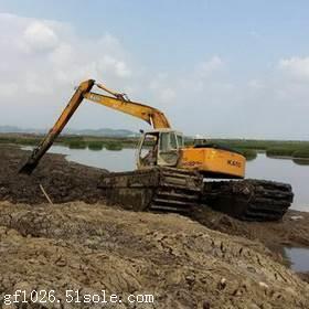 哪里有卖水陆两用挖机出租
