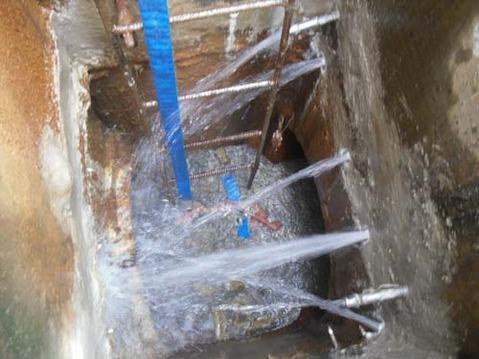 水池堵漏 先进的堵漏施工设备